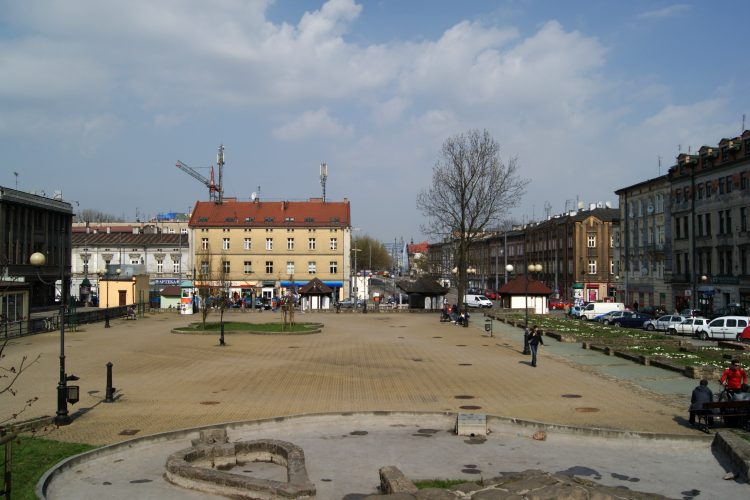 Rynek podgórski w Krakowie
